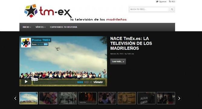 TM-ex utiliza el logotipo de plataforma 'Salvemos Telemadrid'