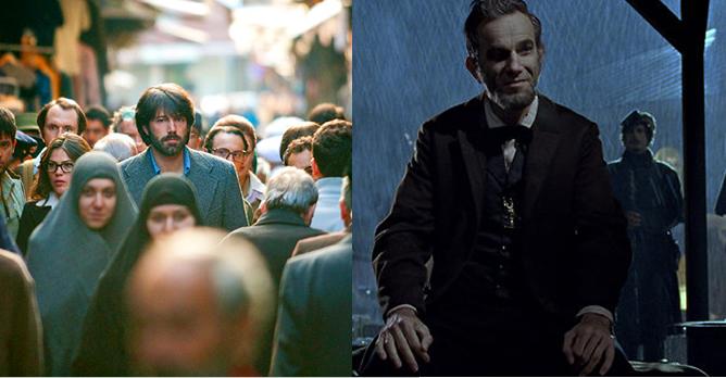 'Argo' versus 'Lincoln'