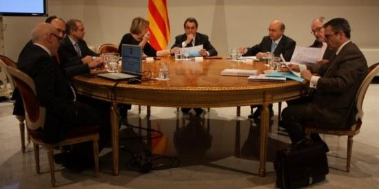 Segona cimera anticorrupció al Palau de la Generalitat