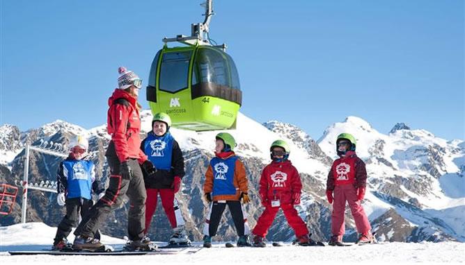 Este fin de semana se presenta como ideal para practicar actividades deportivas en la nieve