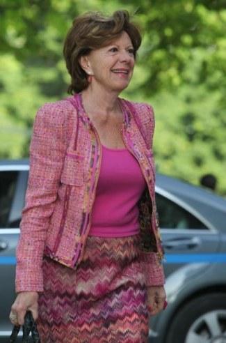 La Vicepresidenta de la CE, Neelie Kroes