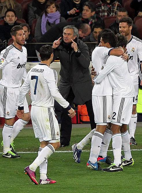FOTOGALERIA: Mourinho pide concentración