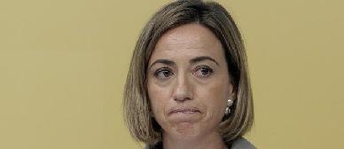 L'exministra de Defensa i diputada socialista, Carme Chacón
