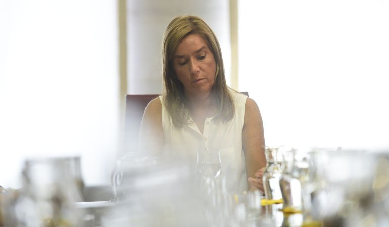 Imagen de archivo de Ana Mato, durante una reunión en el Ministerio de Sanidad