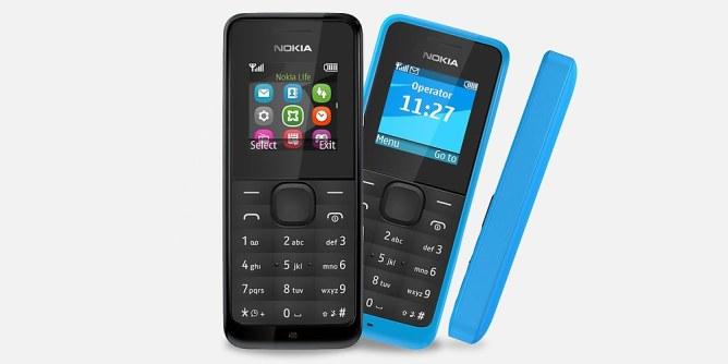 Nokia ha presentado el 105, un teléfono por sólo 15 euros