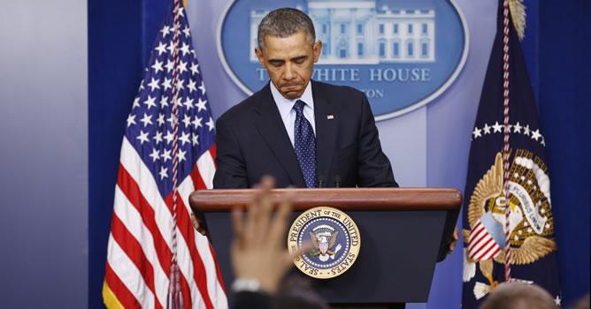 Obama habla en Washington sobre el 'secuestro fiscal'
