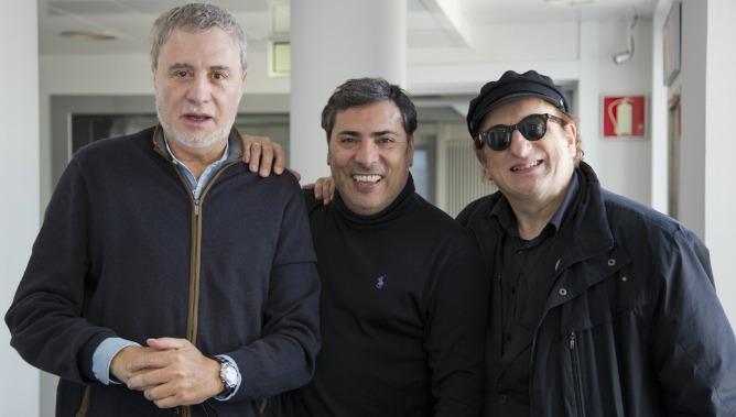 Joaquín Kremel y Javier Gurruchaga son 'Los reyes de la risa'