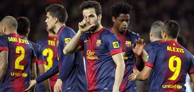 El Barça rechaza 35 millones de euros del Manchester United por Fàbregas