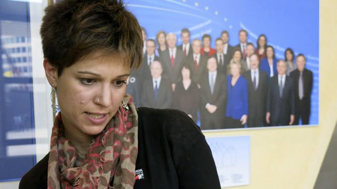 La secretaria general de la Unión Internacional de Juventudes Socialistas, Beatriz Talegón