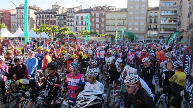 Éxito de la cicloturista Pamplona