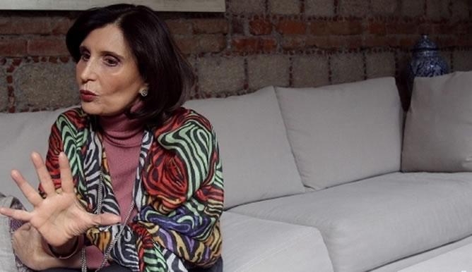 La escritora y periodista mexicana Ángeles Mastretta