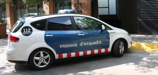 Un cotxe patrulla dels Mossos d'Esquadra