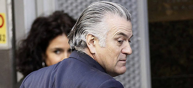 Luis Bárcenas, extesorero del Partido Popular, investigado en una causa a parte del 'Caso Gürtel' por una presunta contabilidad en B del partido.