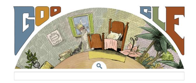 El buscador dedica al ilustrador y escritor de literatura infantil su doodle en el día en el que hubiera cumplido 85 años