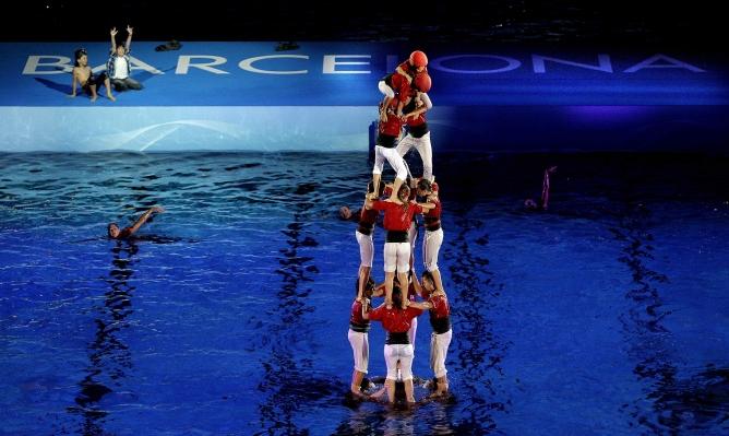 Sue os de agua para abrir el mundial de barcelona for Donde esta la piscina del diablo