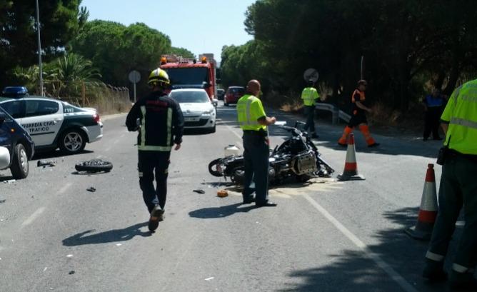 Fallece un motorista en un accidente de tr fico en - Jefatura provincial trafico malaga ...