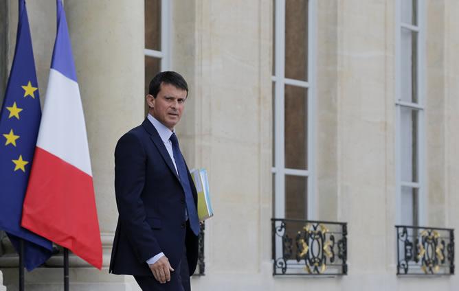 El nuevo primer ministro francés, Manuel Valls, en una imagen de archivo