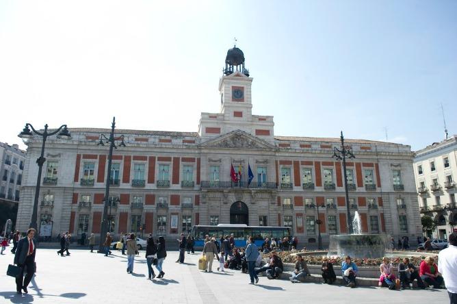 Madrid cerrar el centro de la capital al tr fico a partir for Residencial puerta del sol ensanche de vallecas