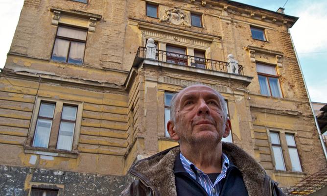 El periodista Boban Minic en su regreso a Sarajevo