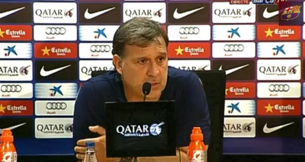 """Martino dice que """"no es cierto"""" que el Barça quiera vender a Messi"""