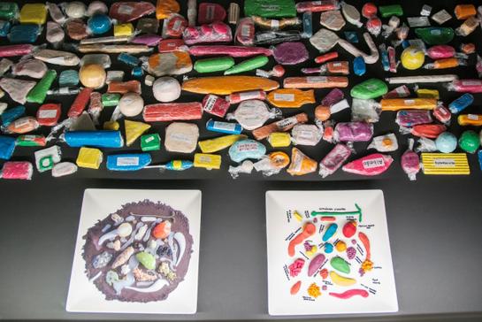 FOTOGALERIA: Modelos de plastilina de elBulli