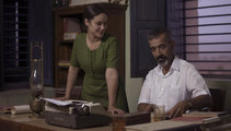 Aida Folch e Imanol Arias en la tv-movie 'Vicente Ferrer'
