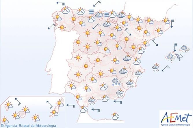 El fr o intenso la nieve o el viento mantienen en alerta for Bazar la iberica