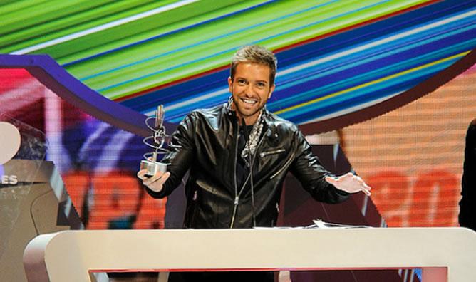 Resultado de imagen de premios 40 principales pablo alboran