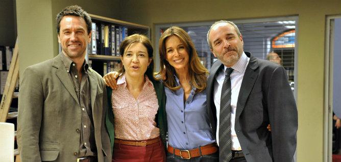 Oriol Tarrasón, María Pujalte, Lydia Bosch y Fernando Guillén Cuervo