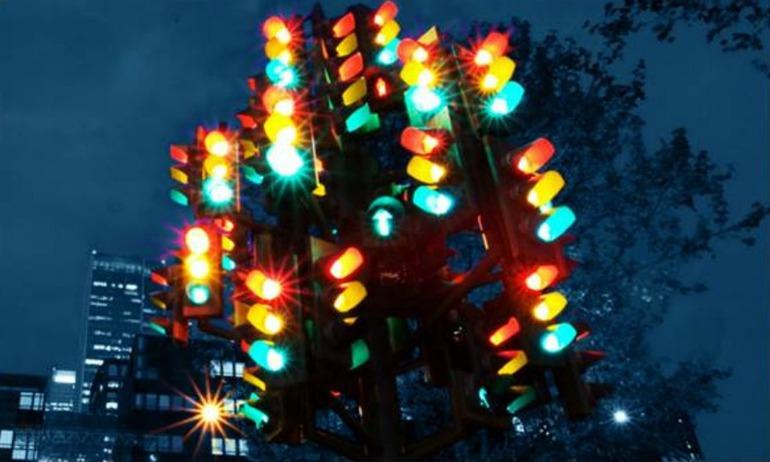 Ejemplo de semáforo propuesta para Málaga