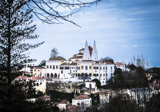 Sintra, palacio de Sintra
