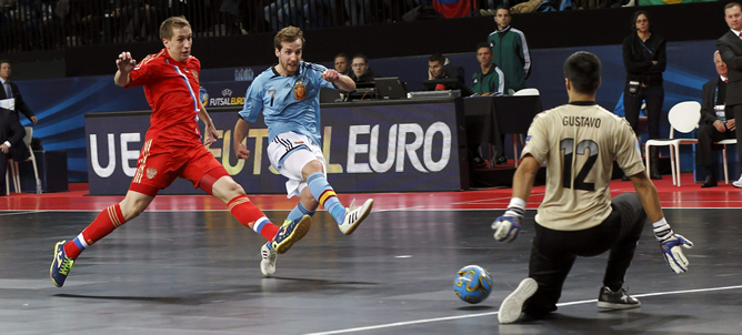 Rusia elimina a espa a en el europeo de f tbol sala for Federacion espanola de futbol sala