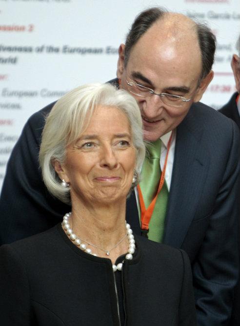 firma ante fondo monetario internacional: