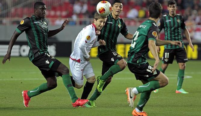 El Sevilla cayó en la ida 0-2 frente al Sevilla