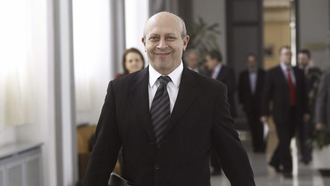 El ministro de Educación, José Ignacio Wert, a su llegada a la reunión del Consejo de Universidades