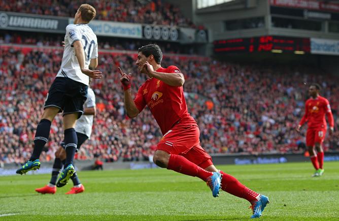 El Liverpool se coloca líder de la Premier