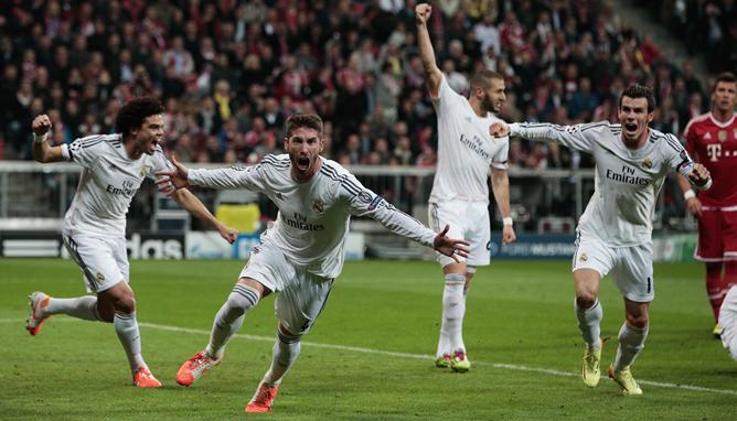 El defensa del Real Madrid ha decidido con sus goles la semifinal de la Champions ante el Bayern de Múnich.