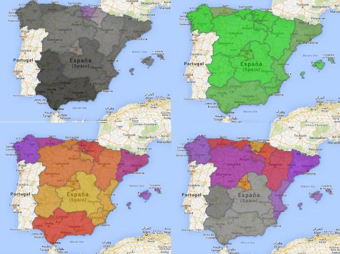 Ocho mapas que explican en qu regiones espaolas se vive mejor y