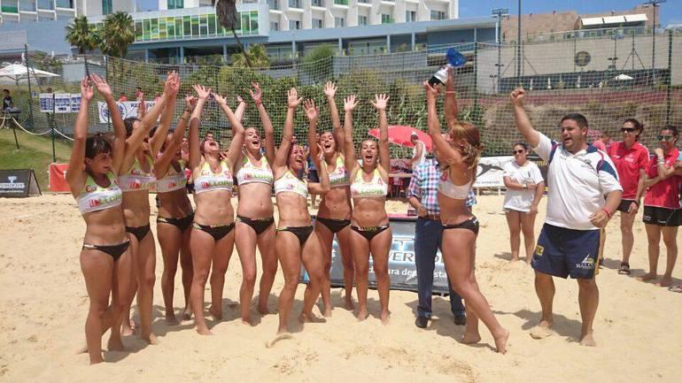 Equipo de bikini de la playa del sur