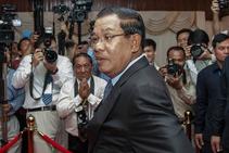 Hun Sen, foto de archivo.