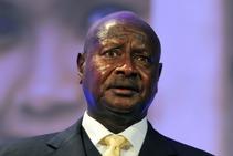 Yoweri Museveni, foto de archivo.