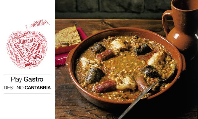 El cocido montañés es uno de los iconos gastronómicos de Cantabria.
