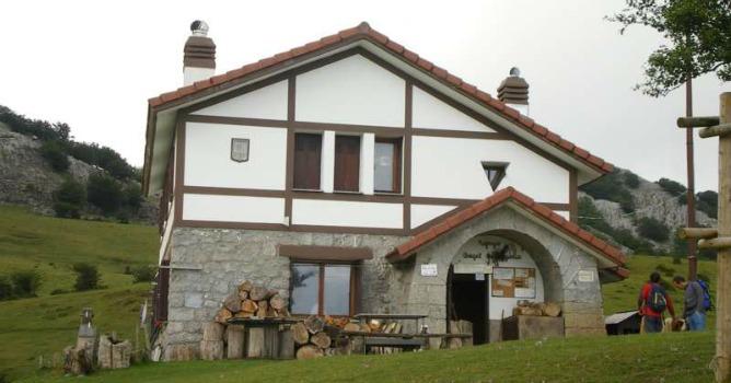El refugio de las campas de Arraba fue renovado en 1992