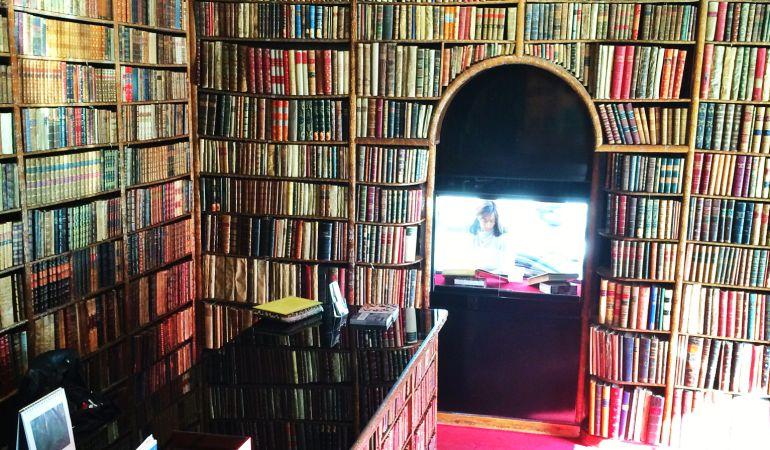 Imagen interior de la Librería Bardón de Madrid