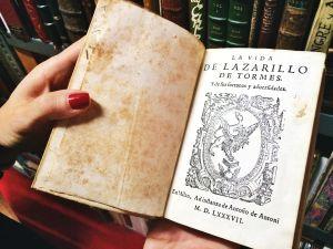 Lazarillo de Tormes del año 1587