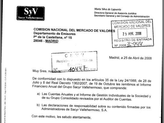 La jefa de los abogados del Estado era secretaria de Sacyr cuando la empresa pagó la supuesta comisión a Cospedal