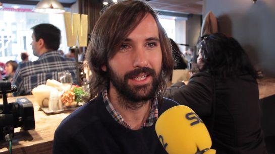 David Otero durante su entrevista para Cadenaser.com