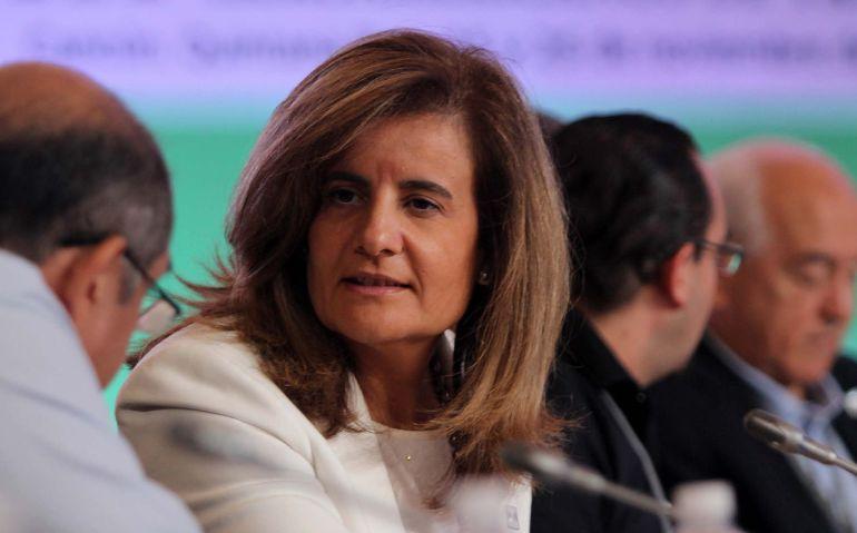 La ministra de Trabajo de España, Fátima Báñez, en la III Reunión de Ministros Iberoamericanos de Trabajo (Imagen de archivo)