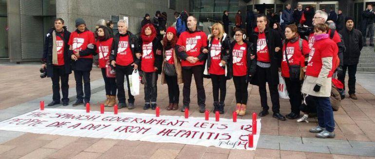Los pacientes de Hepatitis C llevan su conflicto al Parlamento Europeo
