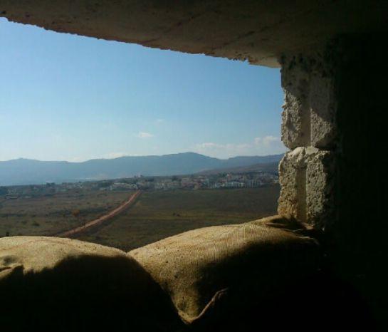 Posición de ONU en la frontera entre Líbano e Israel, el puesto de observación donde se encontraba el militar español